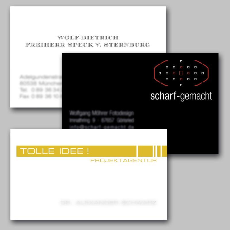Visitenkarten Typosatz W Namisla Gmbh Druckerei Am