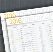 kalender, druck, digitaldruck